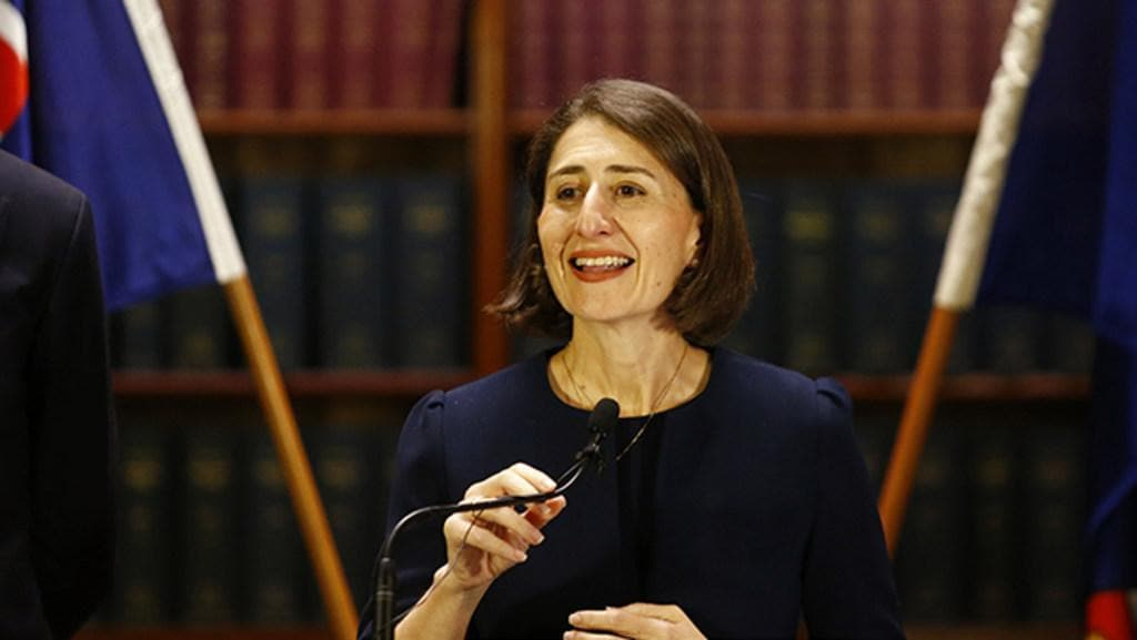 Gladys Berejiklian's outlines agenda in first news conference as NSW Premier