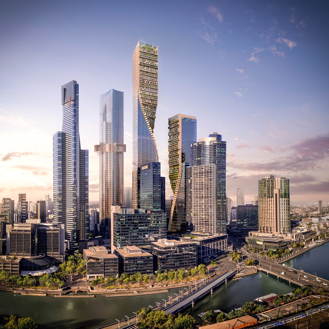 Australia's tallest building is basically going to be a vertical garden