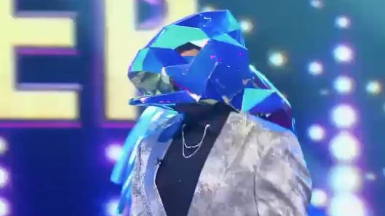 The Masked Singer Australia Dragon Lifts Mask To Reveal Adam Brand