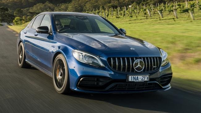 New Mercedes-AMG C63 S muscle car reviewed