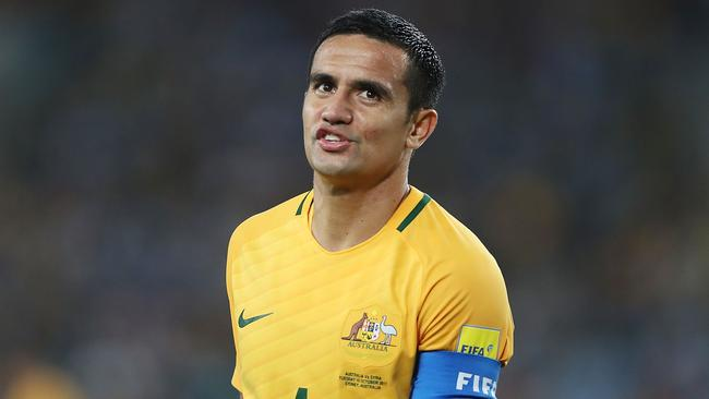 Tim Cahill of Australia.
