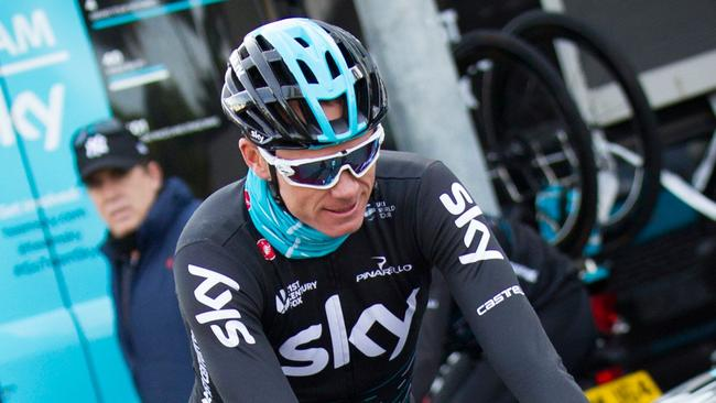 Chris Froome says he hopes to have the issue of his abnormal doping test quickly resolved.
