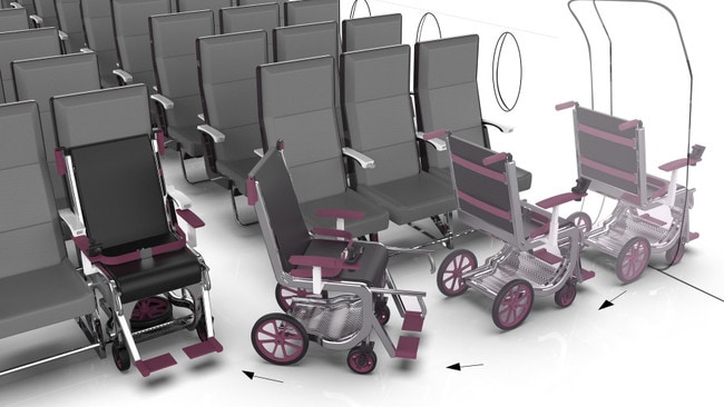 This design could make life much easier for wheelchair users.