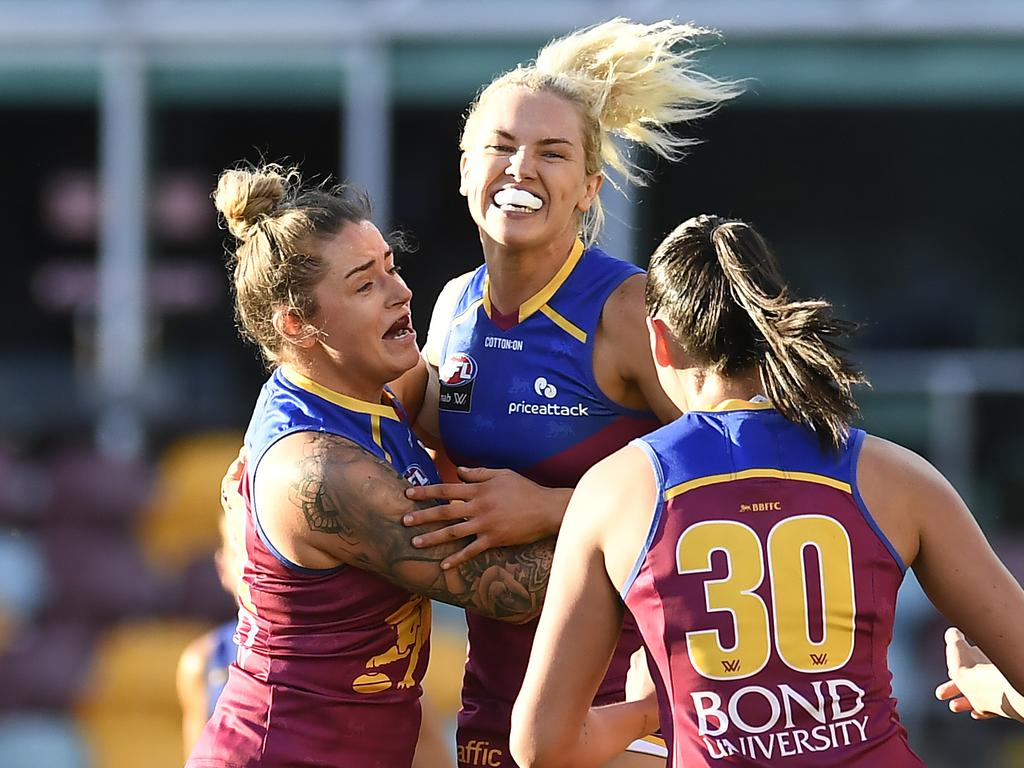 AFLW Second Preliminary Final - Brisbane v Collingwood