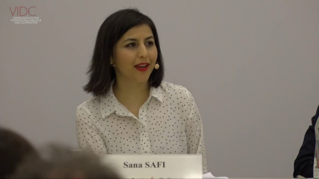 Journalist Sana Safi says the Taliban must be responsible. Source: YouTube