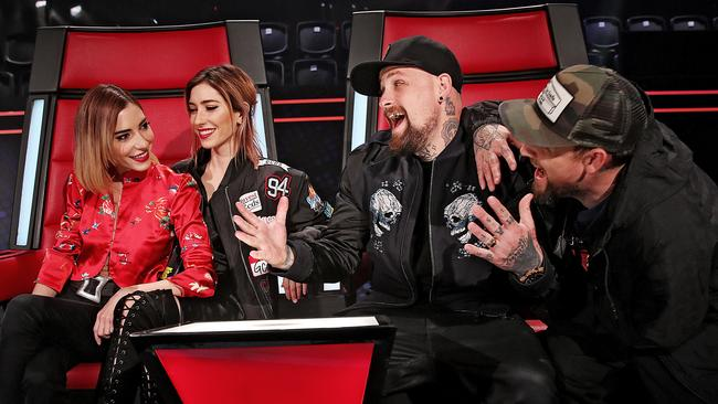 Lisa and Jess Origliasso will step in for the Madden twins on The Voice.