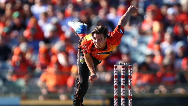 Jhye Richardson of the Scorchers looks certain to be an important player in SuperCoach BBL this season
