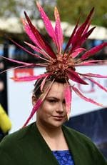 Racegoers arrive early at Flemington racecourse to watch the running of the Melbourne Cup, Tuesday, November 7, 2017. Picture: AAP Image/Joe Castro