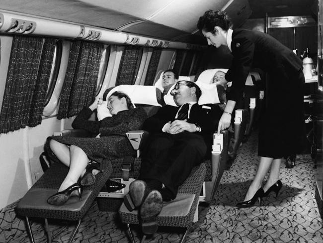 Nap time in the 1950s. Picture: Getty Images