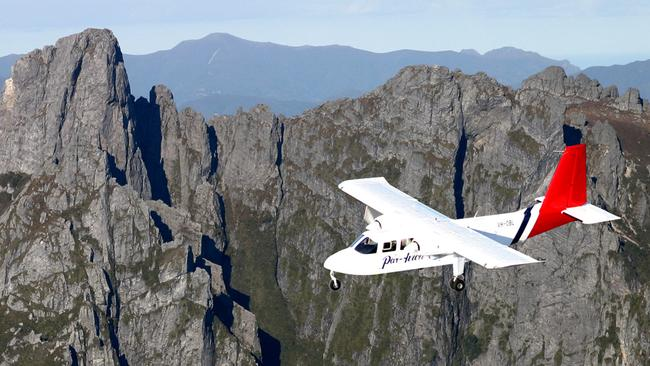 Wreckage of missing plane discovered in remote Tasmania, no chance