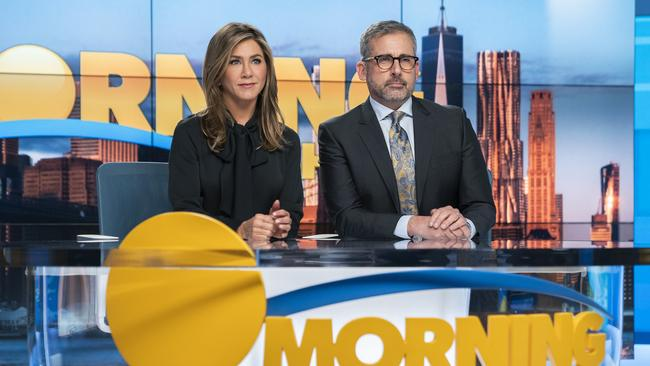 There are few industries more cutthroat than morning TV. Picture: Hilary B. Gayle/Apple TV Plus via AP