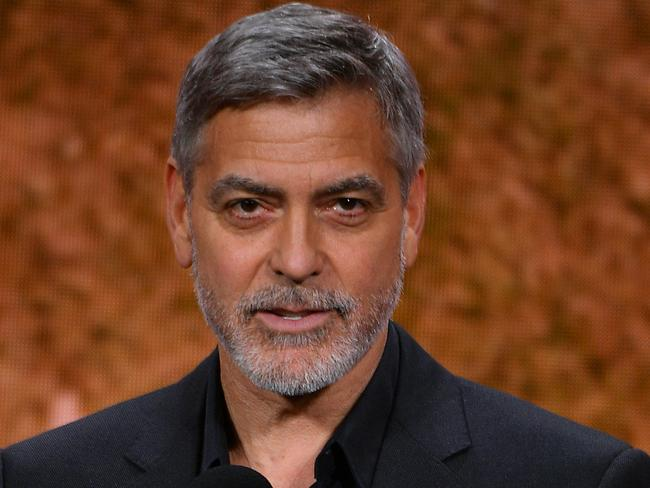 George Clooney has warned the media's treatment of the Duchess of Sussex mirrored that of the late Princess Diana. Picture: Dia Dipasupil/Getty Images for Hulu