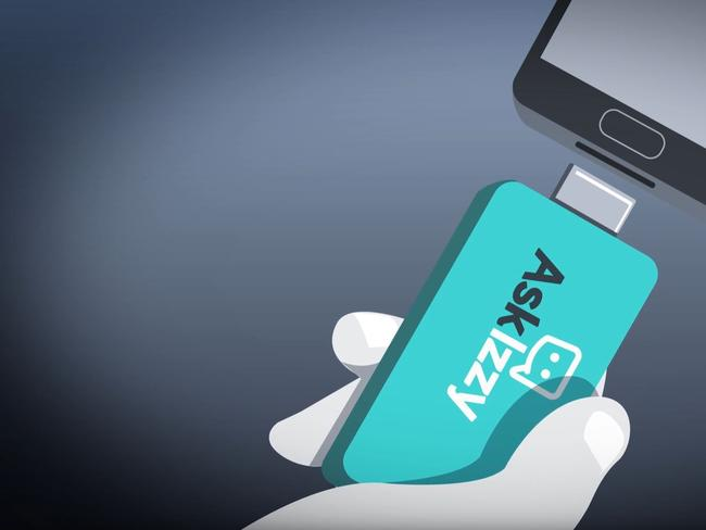The Ask Izzy Power Card plugs into any phone to help power homeless to find support.