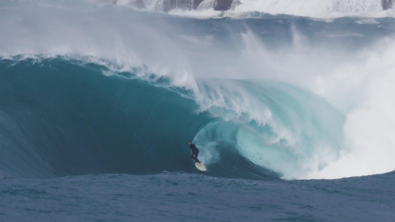 'The best wave I've ever seen ridden in Sydney'. Picture: Spencer Frost Films