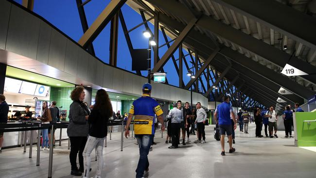 The new facilities at Bankwest Stadium. (Photo: Cameron Spencer/Getty Images)