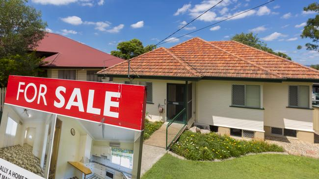 NAB expects Brisbane house prices to remain flat in the next two years. Image: AAP/Glenn Hunt.