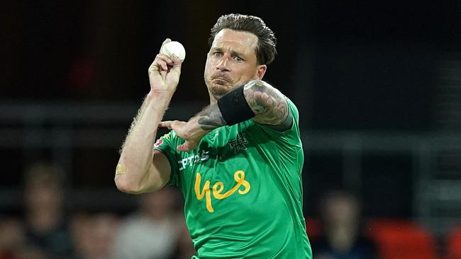 Dale Steyn will go head to head with Morris in a BBL showdown. Picture: AAP