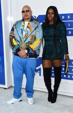 Fat Joe and Remy Ma attend the 2016 MTV Video Music Awards at Madison Square Garden on August 28, 2016 in New York City. Picture: Getty