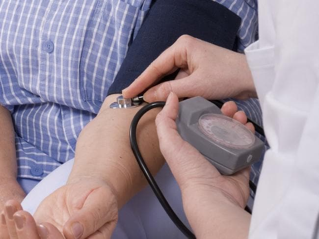 High blood pressure is a major cause of heart disease.