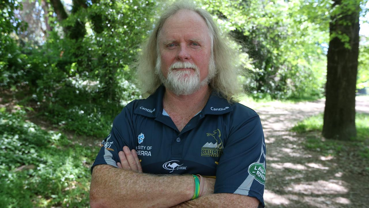 Brumbies assistant coach Laurie Fisher.