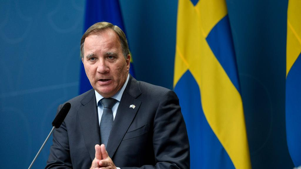 Sweden's Prime Minister Stefan Lofven has launched an investigation into his government's coronavirus strategy. Picture: Ali Lorestani / AFP