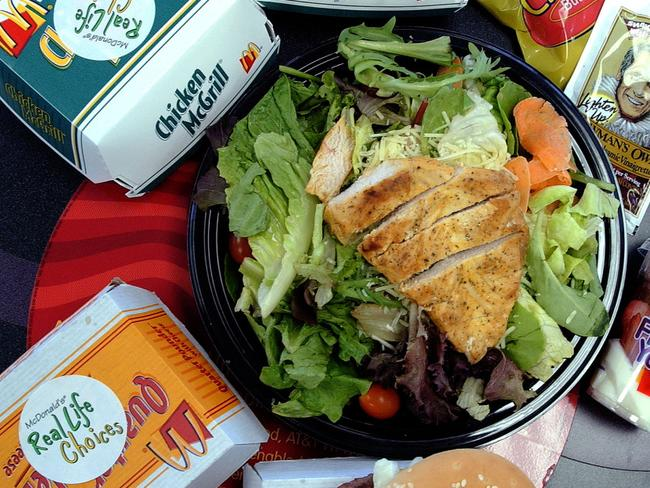 There's been an outbreak of disease caused by tainted McDonald's salad in the US.