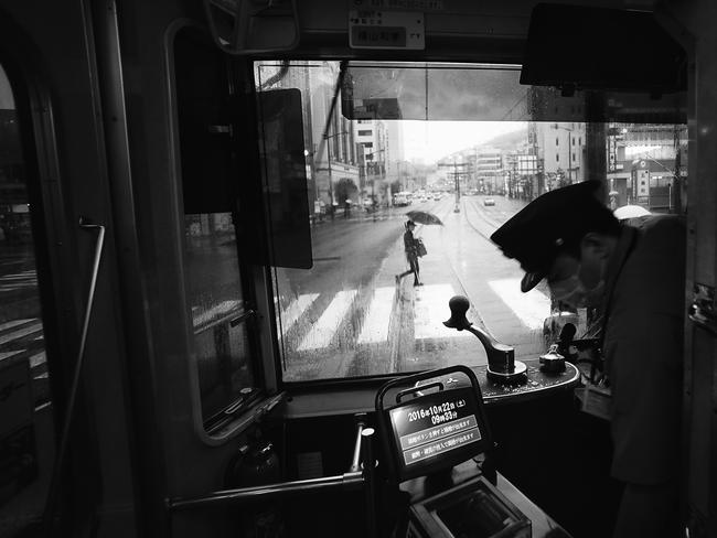 First place winner in the Cities category - 'Another rainy day in Nagasaki, Japan' Picture: Hiro Kurashina