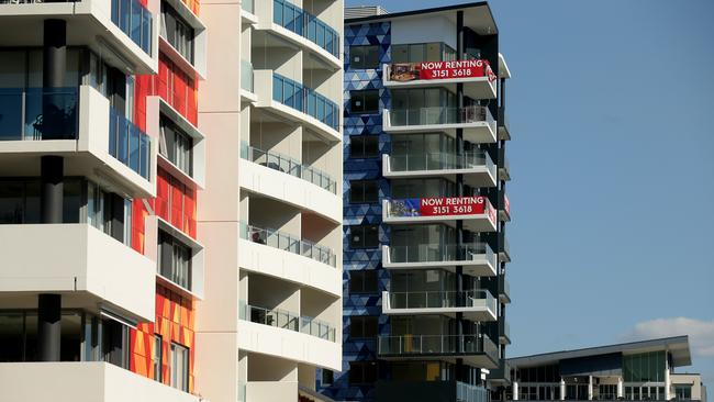 New high rise apartments in West End. Picture: Mark Calleja.