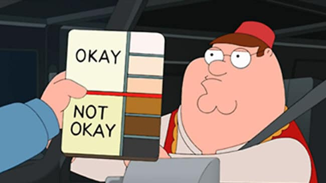 Exclusive footage of the Trump Dating crew assessing profiles.