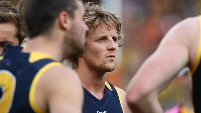 Rory Sloane in the aftermath of last year's Grand Final. Picture: Sarah Reed.