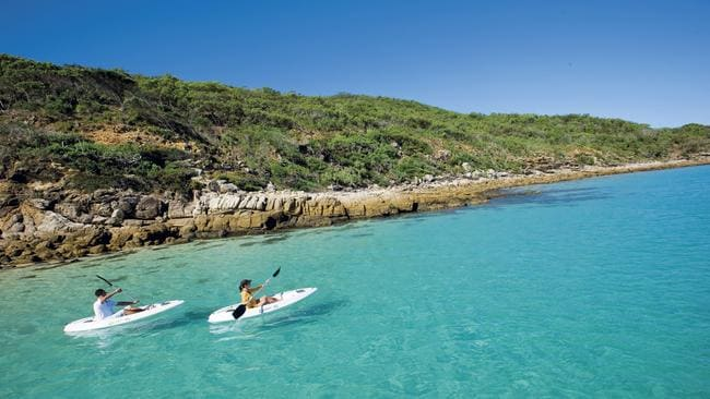 Great Keppel Island is off the coast of Yeppoon. Picture: Tourism and Events Queensland