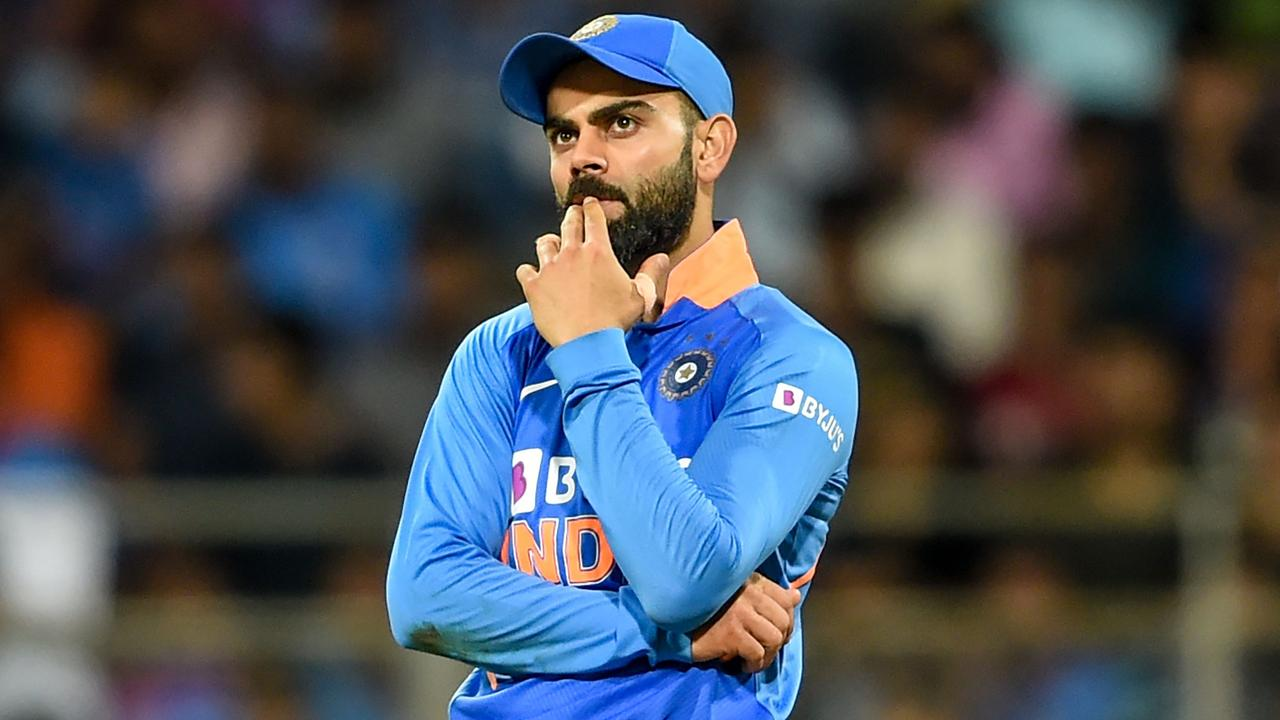 Things didn't go to plan for Virat Kohli in the first ODI.