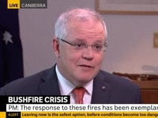 Scott Morrison copped a hammering on the ABC's Insiders program. Picture: ABC