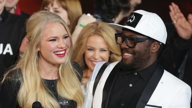Will.i.am's A-list connection has not helped Anja Nissen connect with music buyers ... so far.