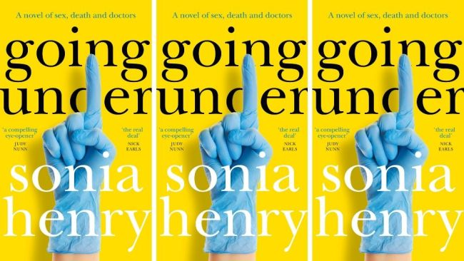 'Going Under' by Sonia Henry is available now. Image: Supplied