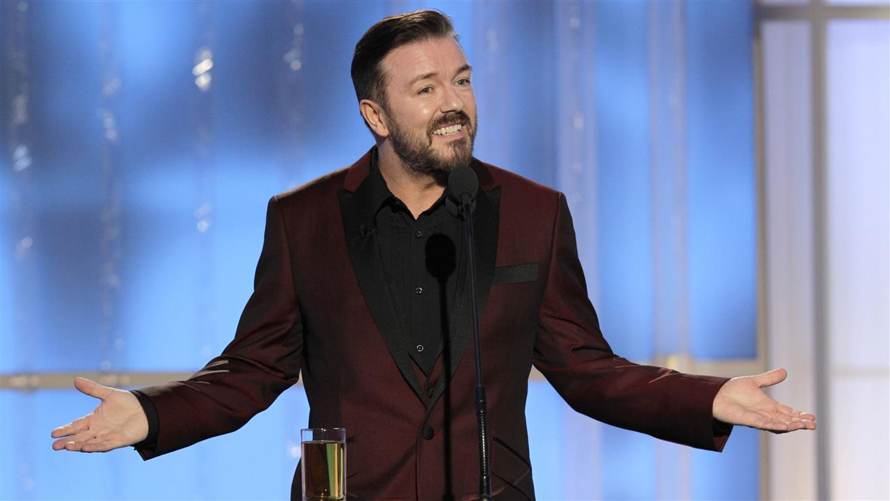 Golden Globes: Ricky Gervais Roasts the Stars