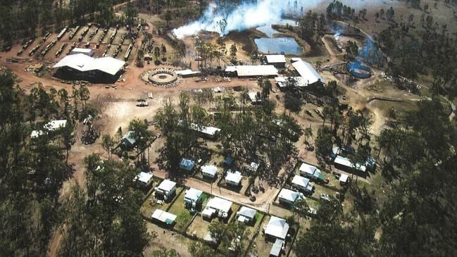 Picture from 2001 when Queensland Sawmills Pty Ltd was still operating at Allies Creek.