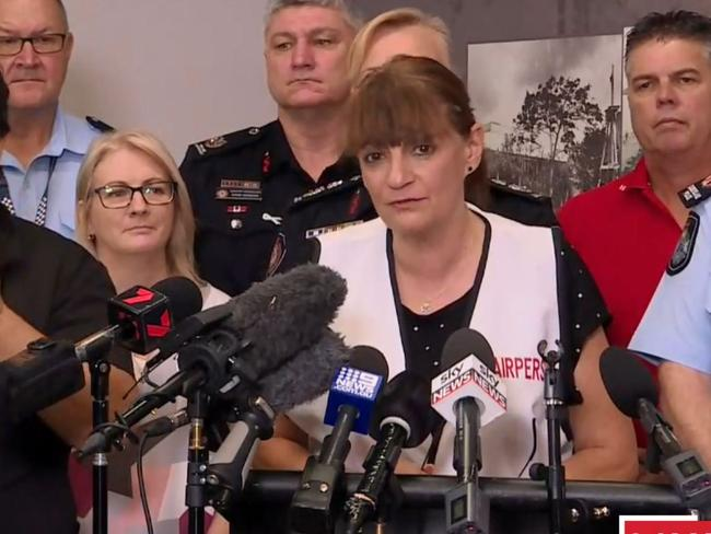 Townsville mayor Jenny Hill. Picture: 9News
