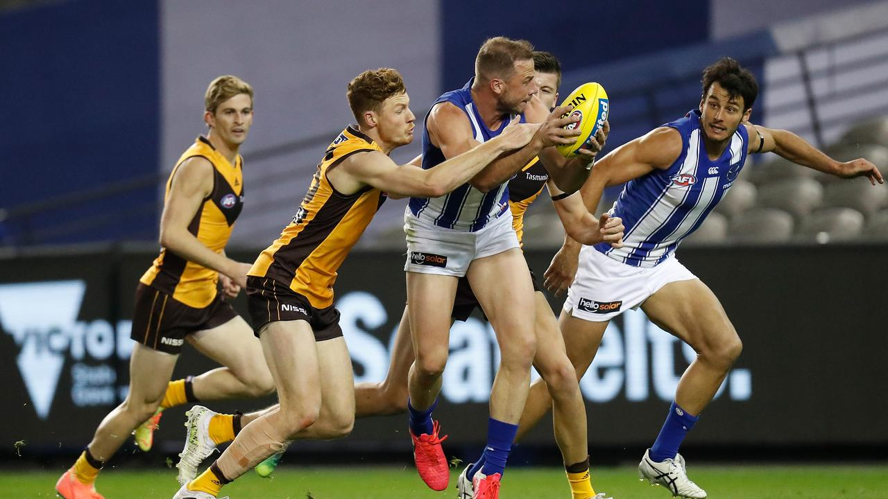 David King believes team prior opportunity should be implemented. Photo: Michael Willson/AFL Photos via Getty Images.