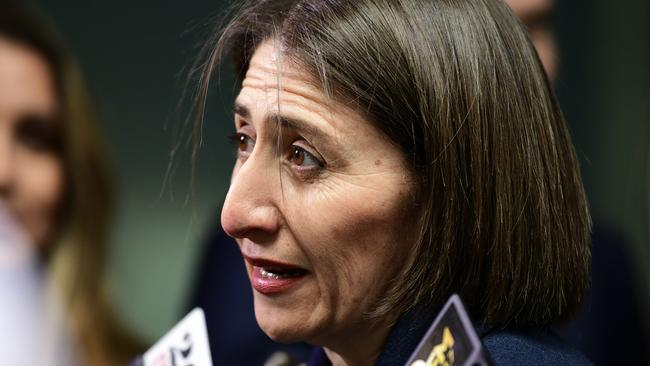 NSW Premier Gladys Berejiklian deemed the festival an 'unsafe event'. Picture: Bianca De Marchi/AAP