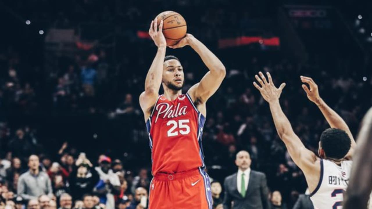 Image result for ben simmons three pointer