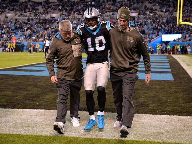 Curtis Samuel is out for the season.