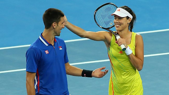 Novak Djokovic And Ana Ivanovic Hit It Off Since Young