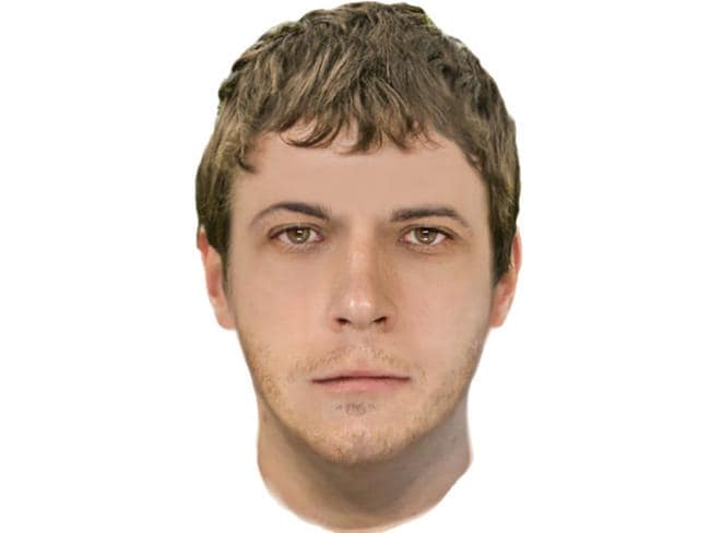 A sketch of a man police were searching for after Saturday night's attack. Picture: Victoria Police