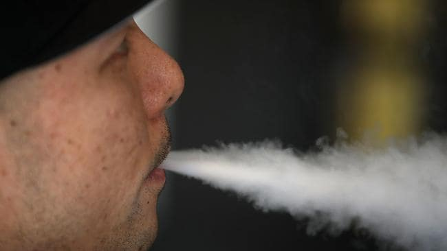 Australian laws ban supplying nicotine for vapour devices, or e-cigarettes. Picture: Justin Sullivan/Getty Images/AFP.