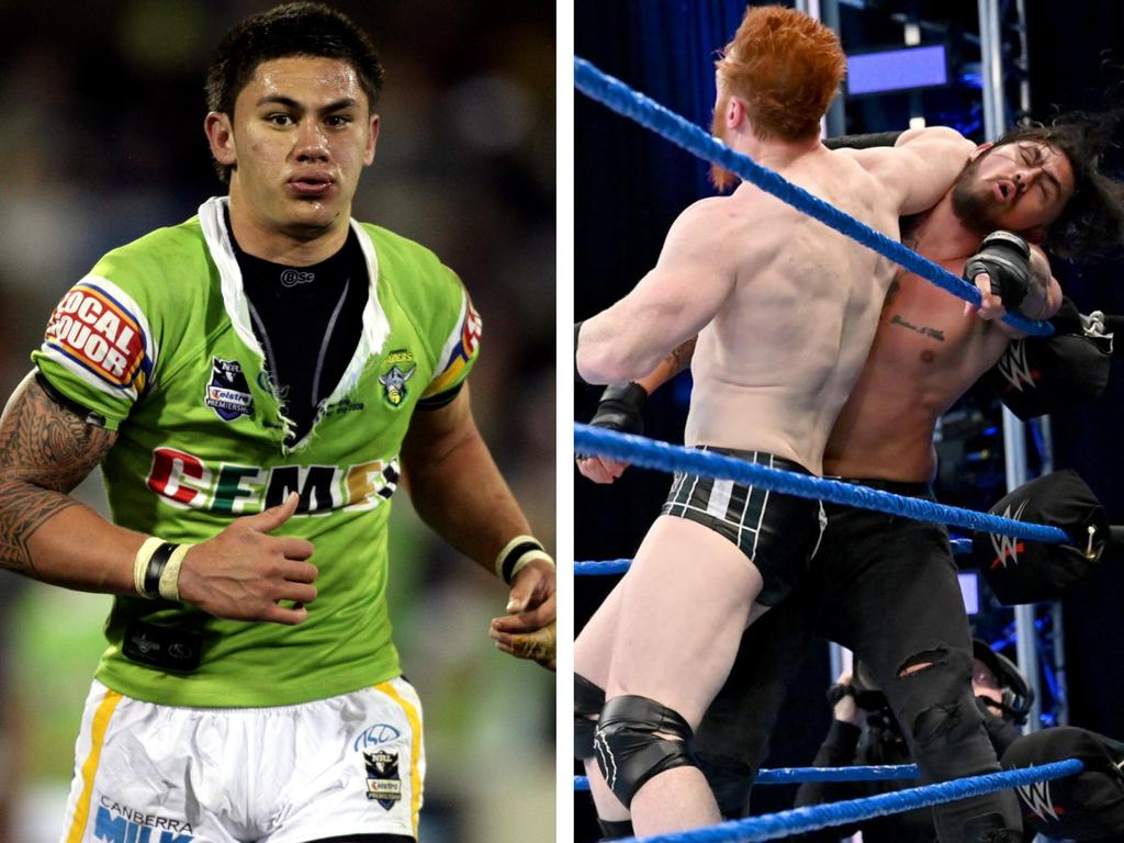 Daniel Vidot continues to prove the doubters wrong on his career change from NRL player to WWE wrestler.