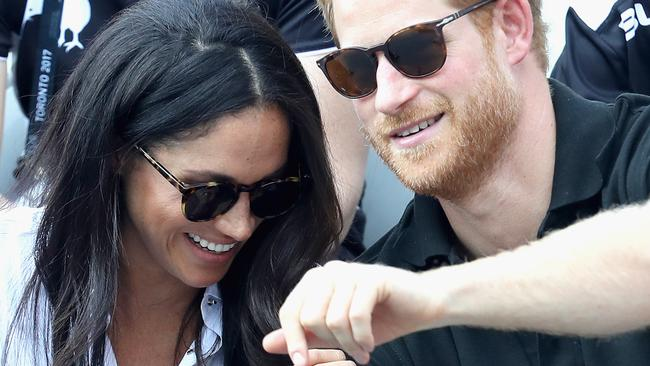 Prince Harry and Markle fuel engagement rumours. Picture: Chris Jackson / Getty Images.