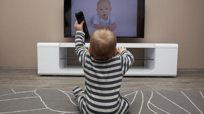 Australian guidelines say children under 2 should not have any screen time.