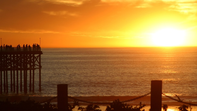 Sunset at Pacific Beach. Photo: Supplied