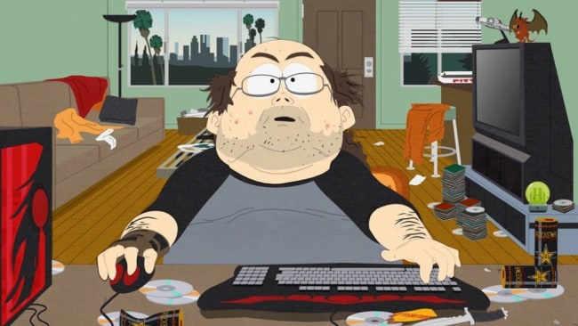 Is this what you think a gamer looks like? Image: 'South Park'
